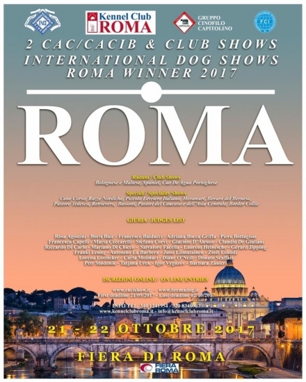 International Dog Shows - Roma Winner 2017 - Beauceron Des Gardiens de Rome